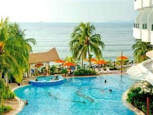 Flamingo hotel by the beach 4 star hotel in tanjung bungah penang for Gurney hotel penang swimming pool